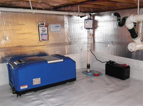 Selecting A Crawl Space Dehumidifier For Your Wisconsin Install Dehumidifier In Basement Selecting A Crawl Space Dehumidifier For Your Littleton Denver Colorado Home
