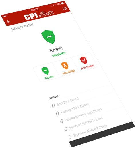 cpi security home security systems home automation