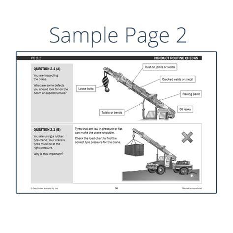 non mobile non slewing mobile crane review study guide