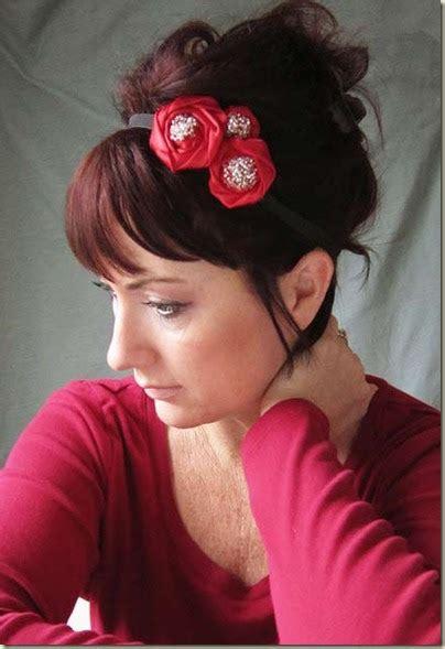 Bow Fabric Hair Band fabric bows and more hair band tutorial by alisa