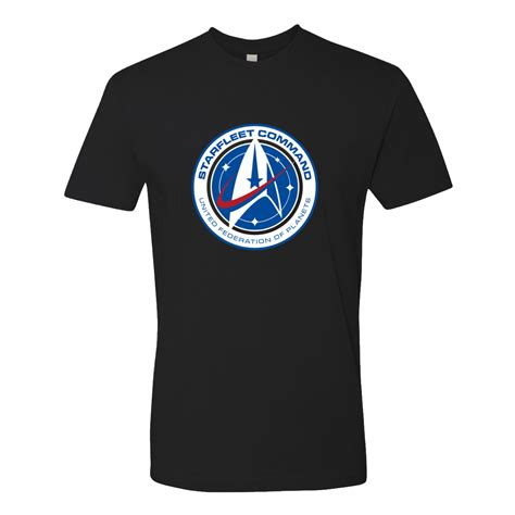 T Shirt Discovery trek discovery starfleet command t shirt shop the