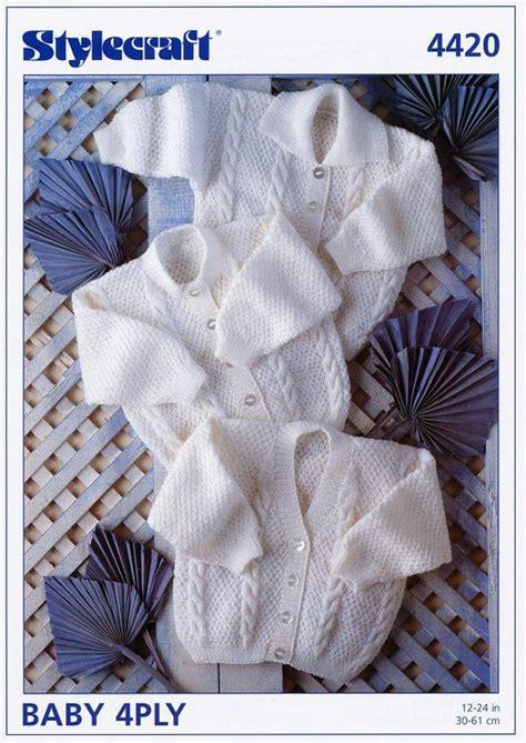 stylecraft knitting patterns to stylecraft 4420 knitting pattern cardigans in stylecraft
