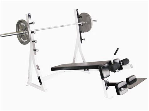 bench press spotter stand yukon commercial decline olympic bench w spotter stand