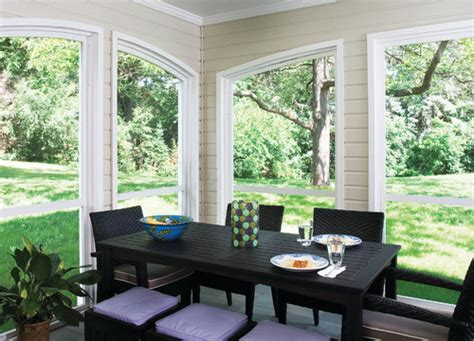 paint color on interior of screened porch
