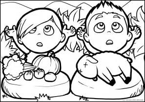 cain and abel coloring pages cain and abel coloring page coloring home
