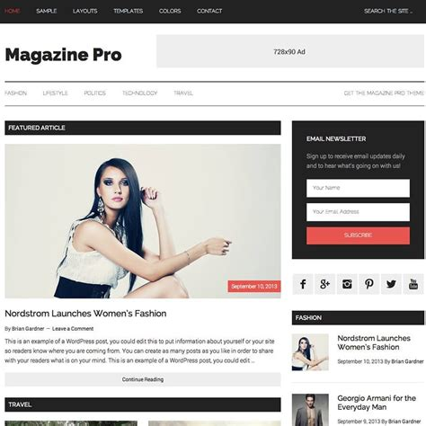 genesis education pro theme by studiopress academic standard genesis magazine pro review by studiopress stylish publisher