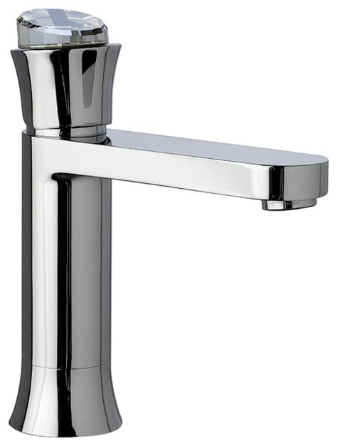 crystal bathroom taps muse diamond bathroom faucet w swarovski crystal polished chrome contemporary