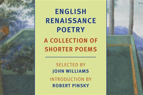 themes of english renaissance poetry revisiting john williams novelist and editor jstor daily