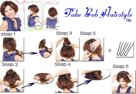 how to wear extension for bobcut fake bob hairstyle for day you so wanna cut your long