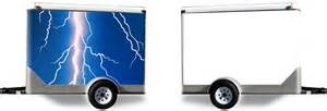 Lightning Bolt Car Wrap Lightning Bolt Trailer Wrap Designed By Custom Car Wraps