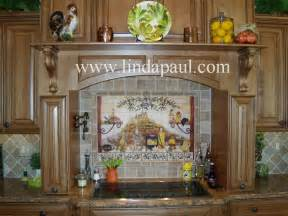 Kitchen Murals Design Italian Tile Backsplash Kitchen Tiles Murals Ideas