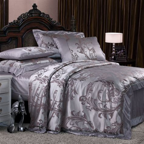 silk comforter sets 8 pieces silk luxury bedding sets set33