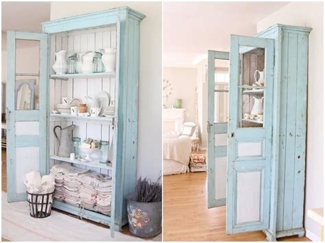 15 wonderful shabby chic home storage ideas