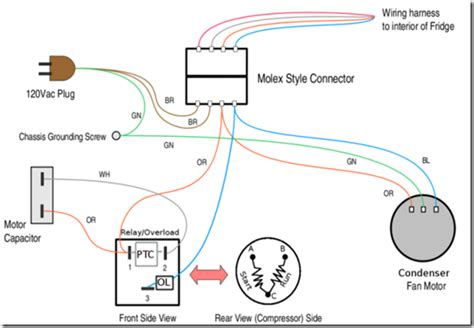wiring diagram kulkas jeffdoedesign