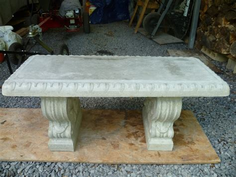 concrete garden bench sweet cement garden bench jbeedesigns outdoor make a