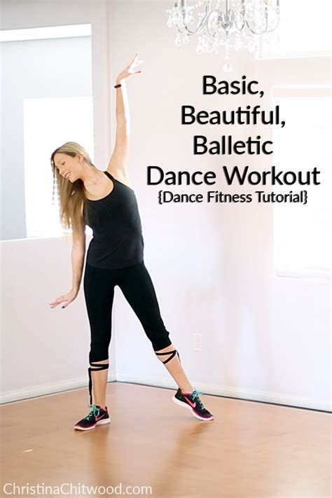tutorial dance work it basic beautiful balletic dance workout dance fitness