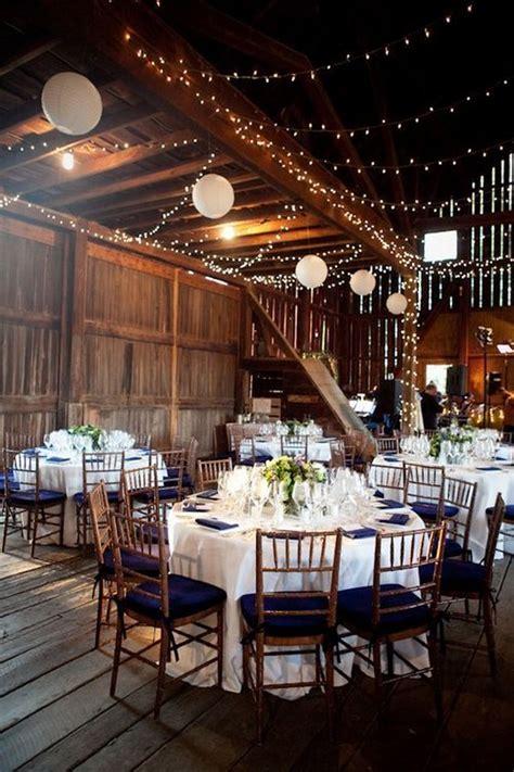 stunning rustic indoor barn wedding reception ideas