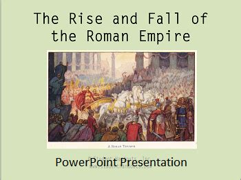 the scientist in the early empire books the rise and fall of the empire powerpoint