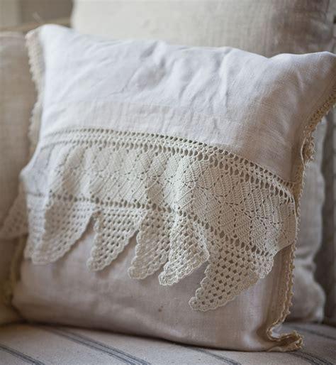 pillows from vintage linens cedar hill farmhouse