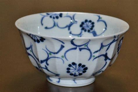 libro a cup of sake arita ware 有田焼 源右衛門 jpn blue ceramicz ware
