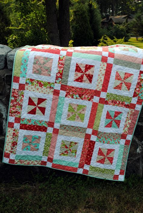 quilt pattern using layer cake quilt pattern baby or lap easy one layer cake by