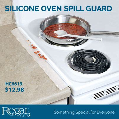 Oven Countertop Gap Guard by Silicone Oven Spill Guard No More Crumbs Or Spills Between