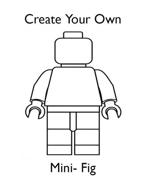 make your own coloring book free colour your own lego mini figure colouring sheets