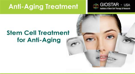 anti aging treatment in india stem cell therapy for anti