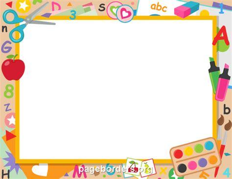 printable clip art images preschool borders clip art bbcpersian7 collections