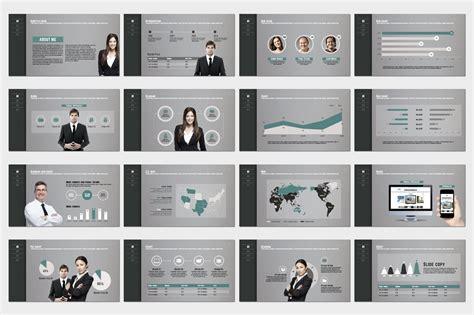 portfolio presentation template portfolio design presentation templates on creative market