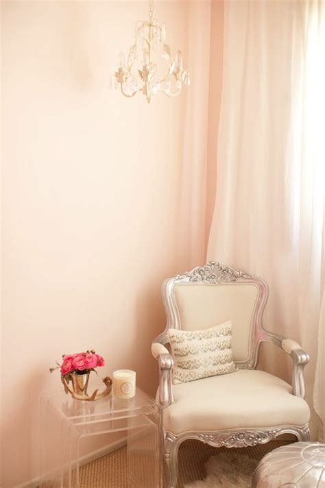 pale pink bedroom acrylic nesting tables french bedroom the glitter guide
