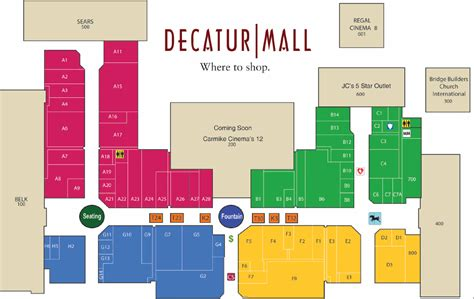layout of livingston mall layout of briarwood mall image gallery mall map