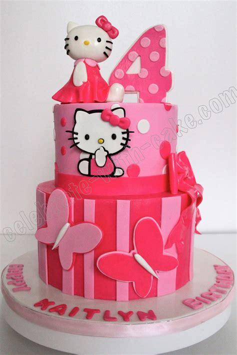hello kitty themed cake celebrate with cake hello kitty cake