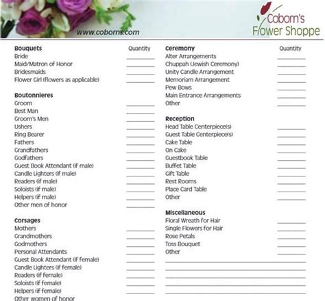 printable wedding checklist nz wedding ceremony checklist steps for a better florist