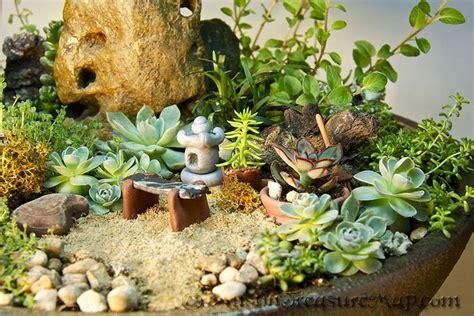 mini zen rock garden miniature zen garden bench pagoda lantern pots