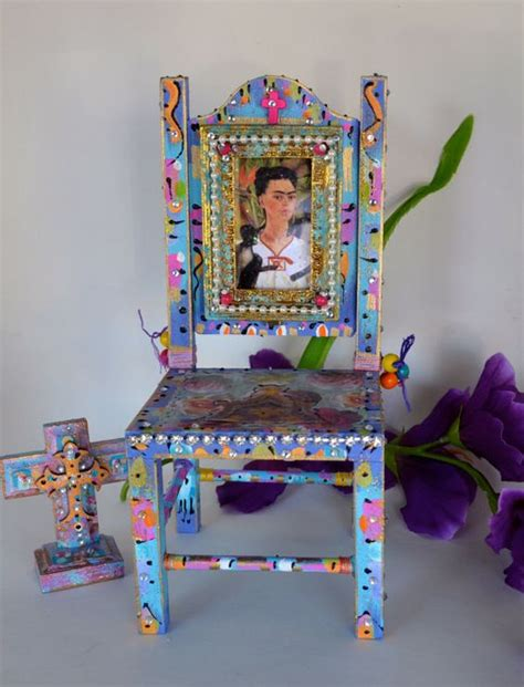 mexican painted chairs frida kahlo mexican and mexicans on