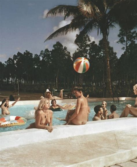 Homesteads For Sale by Pool Scene At Sunny Palms Nudist Resort Homestead
