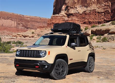 tan jeep renegade concept jeeps at ejs first hand jpfreek