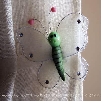 ferma tende fermatende farfalla per la casa e per te decorare casa