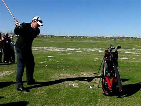 justin leonard swing justin leonard slow motion swing youtube
