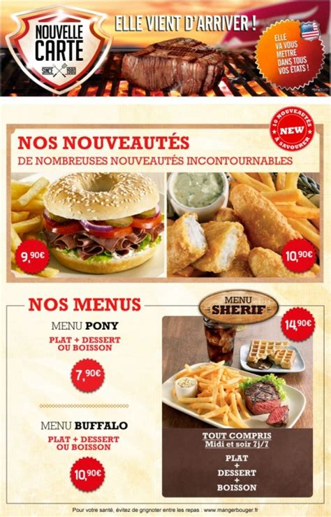 Buffalo Grill Chateaudun by Grillasie Home Val Haute Normandie Menu