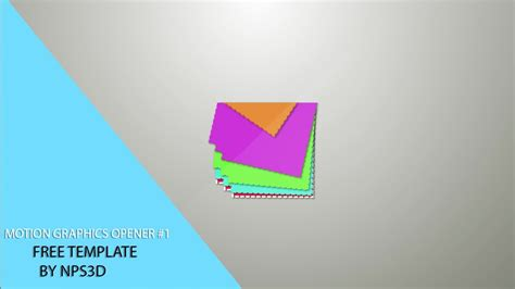after effect motion graphics templates after effects motion graphics opener 1 free template by