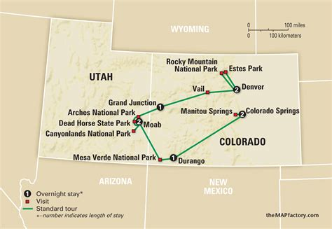 utah colorado map national parks of colorado and utah amazing journeys