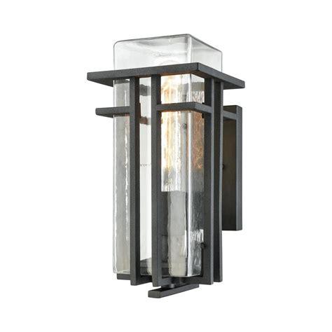 clear small outdoor light titan lighting croftwell small 1 light textured matte