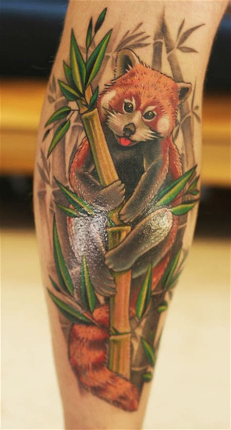 panda tiger tattoo 40 lovely leg tattoo designs to get ready for tattoos