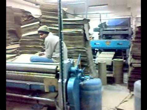 Paper Corrugated Box Machinery - paper corrugated board box machinery