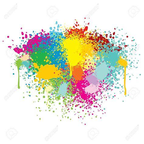 color splatter colorful paint splatter www pixshark images