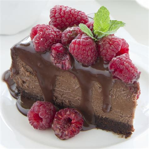 chocolate raspberry recipes chocolate raspberry cheesecake recipe