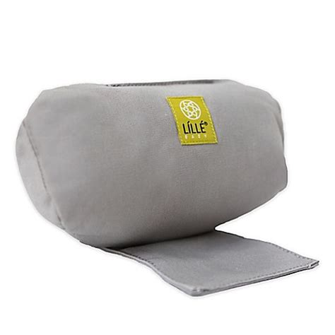 bed bath and beyond pillow inserts buy lillebaby 174 infant pillow insert in grey from bed bath