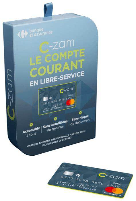 carrefour mobile carrefour lance c zam compte courant mobile et en libre